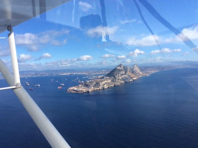 Voyage en ULM en Sicile